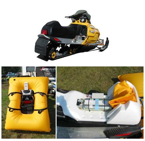 Аварийное спасательное устройство для снегоходов и квадроциклов Nebulus.